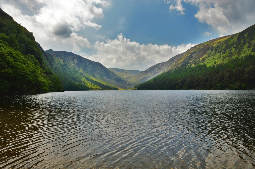 Glendalough, one of the best things to do in Ireland.