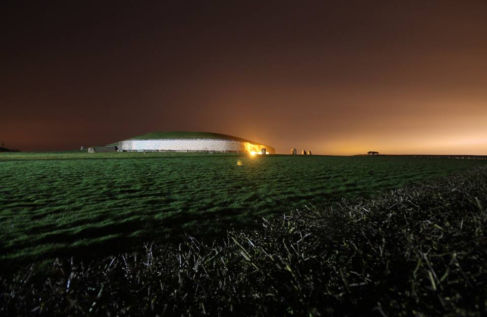 The Winter Solstice at Newgrange is a remarkable sight and one of the best things to do in Ireland.