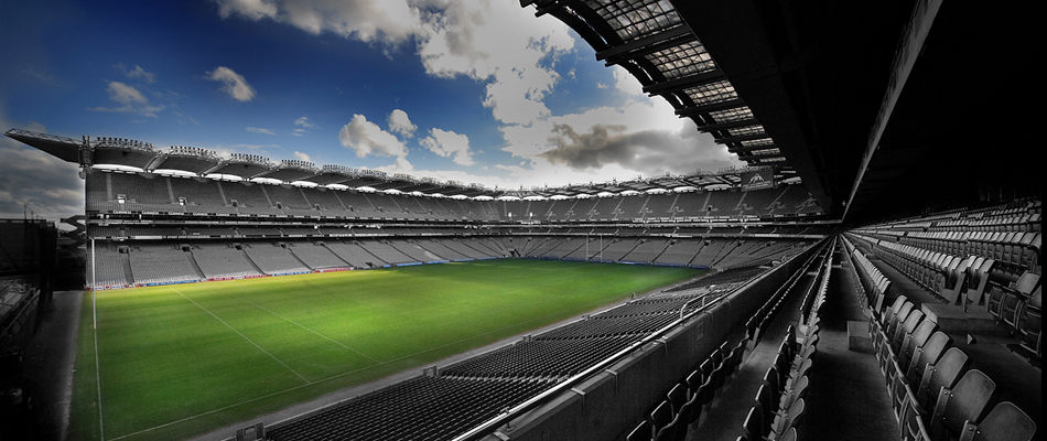 Croke Park is one of the venues listed by Eric Luke as the best he worked in.
