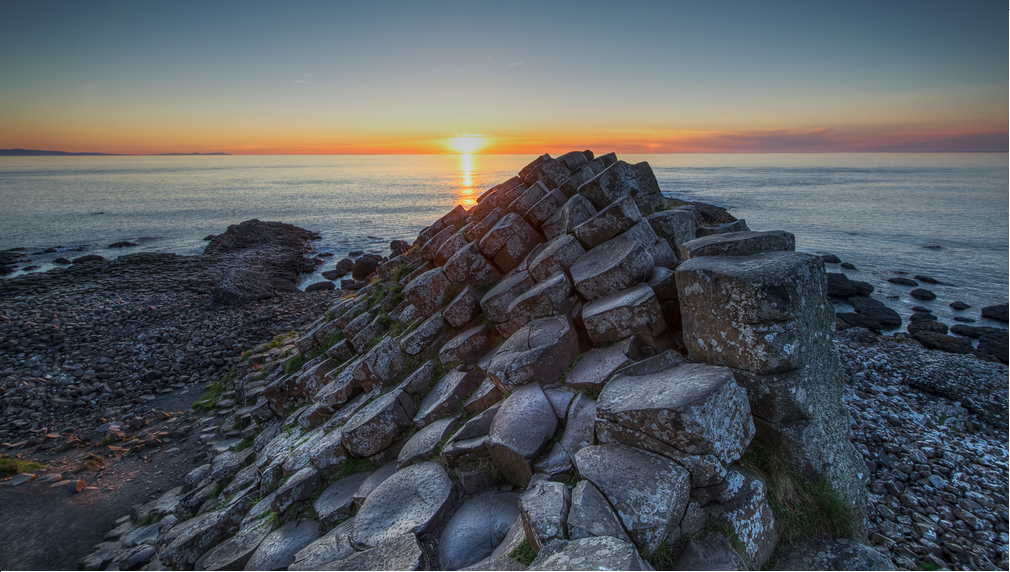 The Giant's Causeway in County Antrim, one of the best things to do in Ireland.