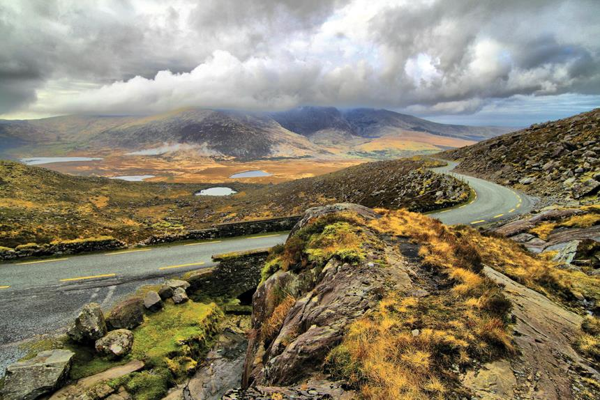 The views along the Ring of Kerry.