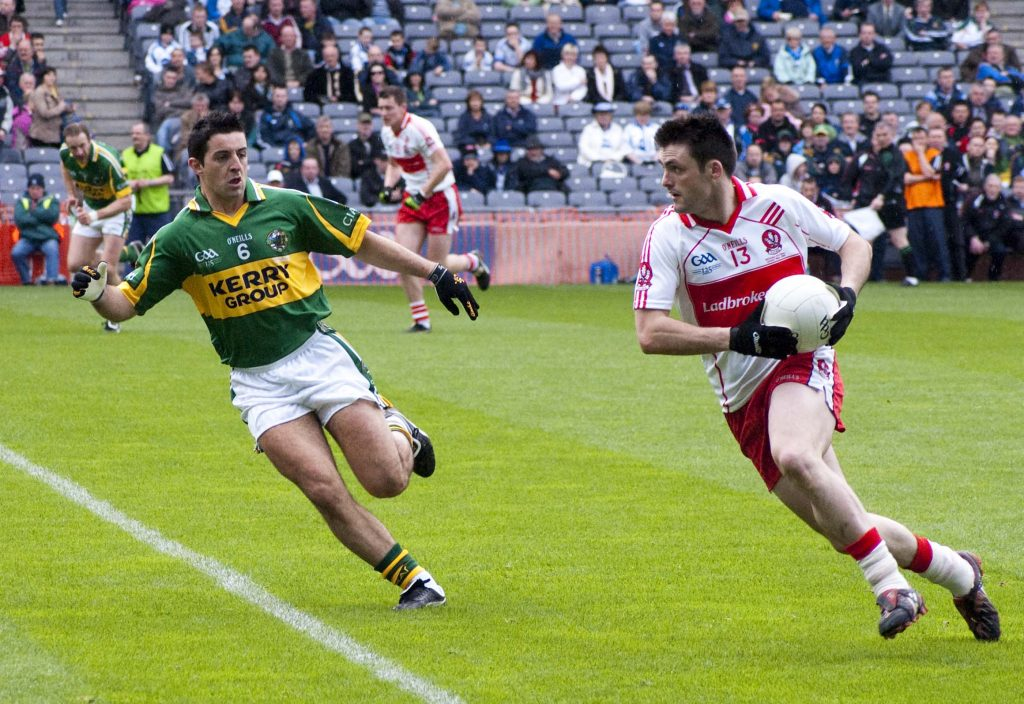 Kerry and Cork are high up contenders for the All-Ireland Football Championship.