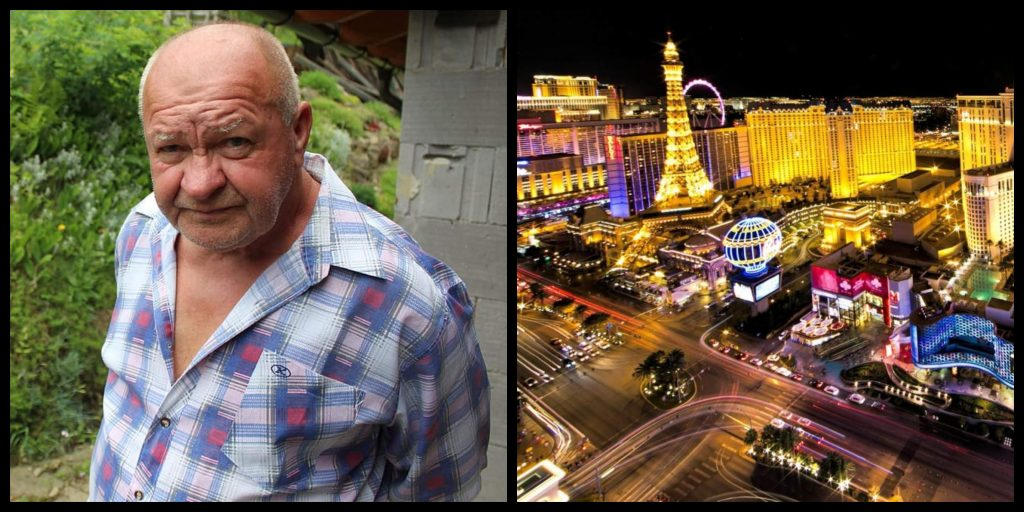 The next chapter of Paddy The Pintman, sees Paddy end up in Vegas.