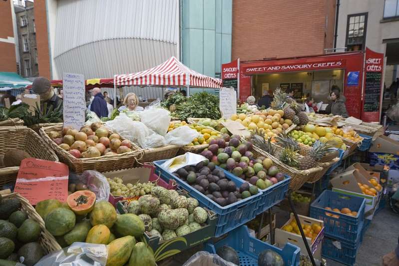 Grab some treats at the local markets – ­authentic Dublin goods