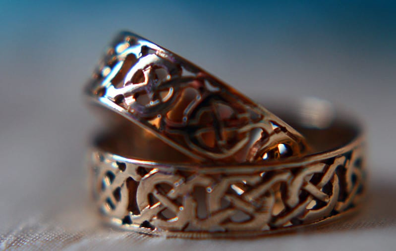 Celtic weddings took place during the important and sacred Celtic holiday of Bealtaine.
