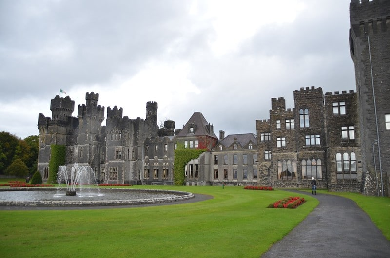 Ashford Castle, now a five star luxury hotel.