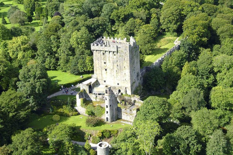 The Blarney Castle in County Cork, arguably the best castle in Cork.