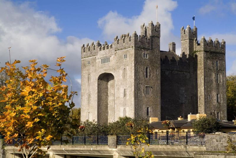 Bunratty Castle in County Clare - the medieval life.