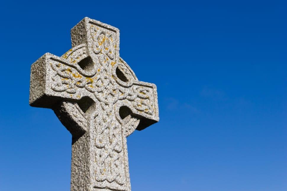 Irish Celtic cross.