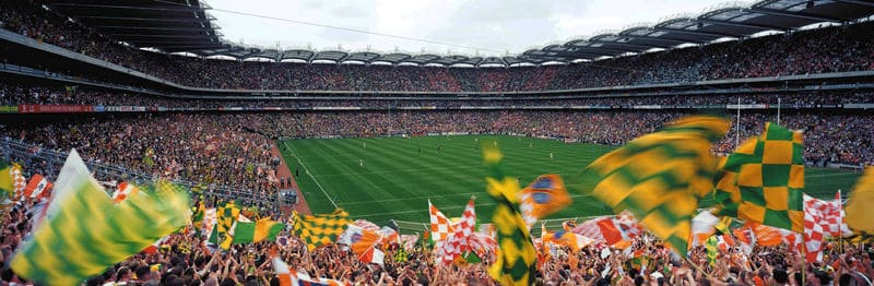 Watching a game of hurling or football in Croke Park is one of the best things to do in Ireland.