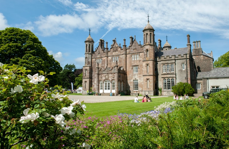 Glenarm Castle in Co. Antrim, one of the best castles in Ireland.