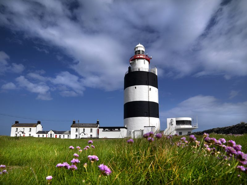 Visiting the Hook Lighthouse in County Wexford is one of the best things to do in Ireland.