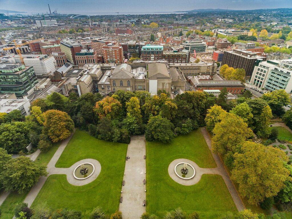 Read a book in the Iveagh Gardens – Dublin's secret garden