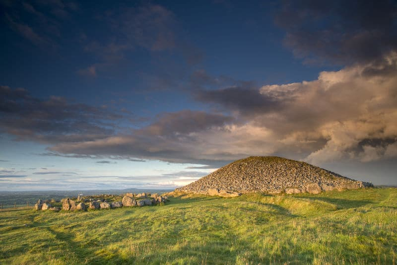 The ancient site of Loughcrew, another remnant of the important and sacred Celtic holidays of the year.