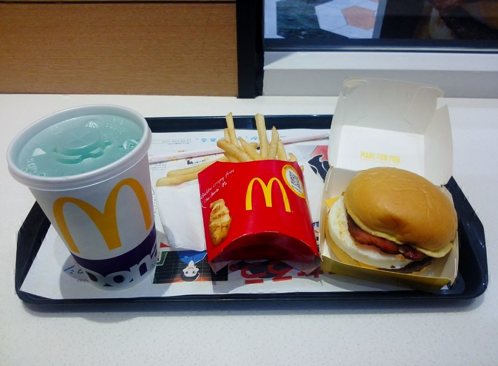 A McDonald's meal, which was promised to Jennifer X by Gardaí.