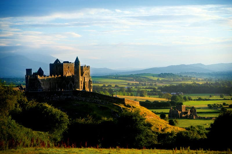The Rock of Cashel, undoubtedly one of the best castles in Ireland.