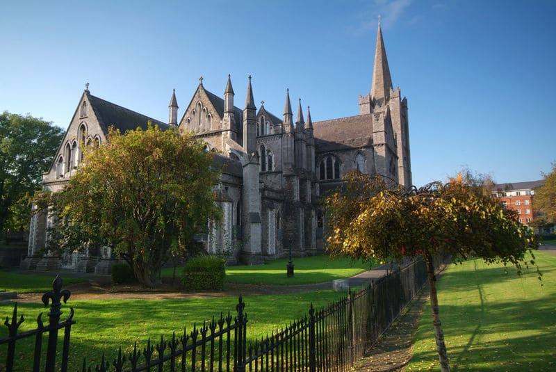 St. Patrick's Cathedral – in honour of Ireland's patron saint