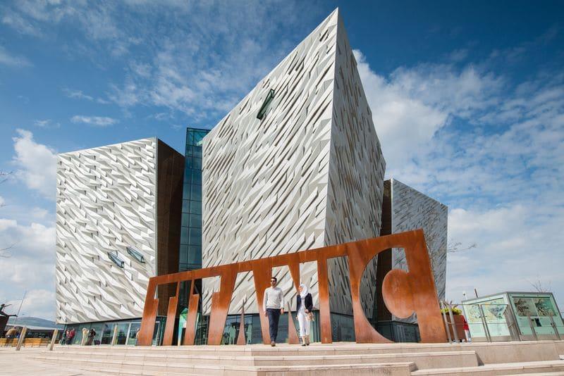 The Titanic Musuem in Belfast.