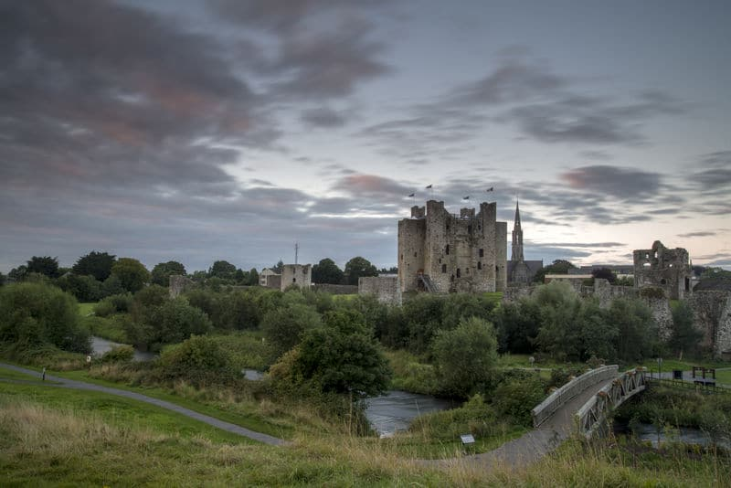 Trim Castle, one of the best castles in Ireland.