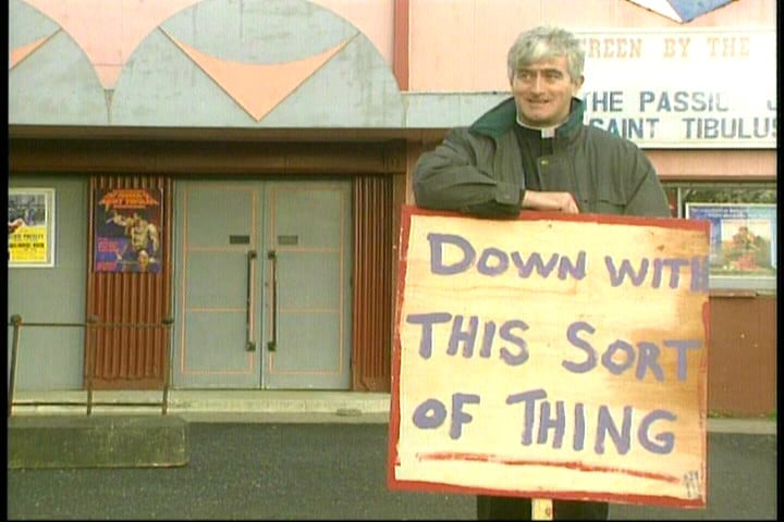 The fine details - what you will have to do in your role as a Father Ted TV Show critic.