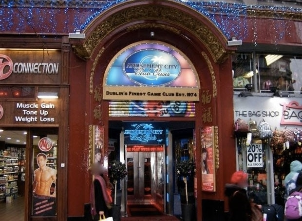 Amusement City and Club Oasis – one of the best venues for blackjack in Dublin.