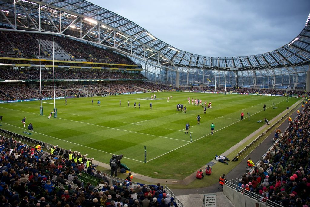 Rugby is now one of the most popular sports in Ireland.