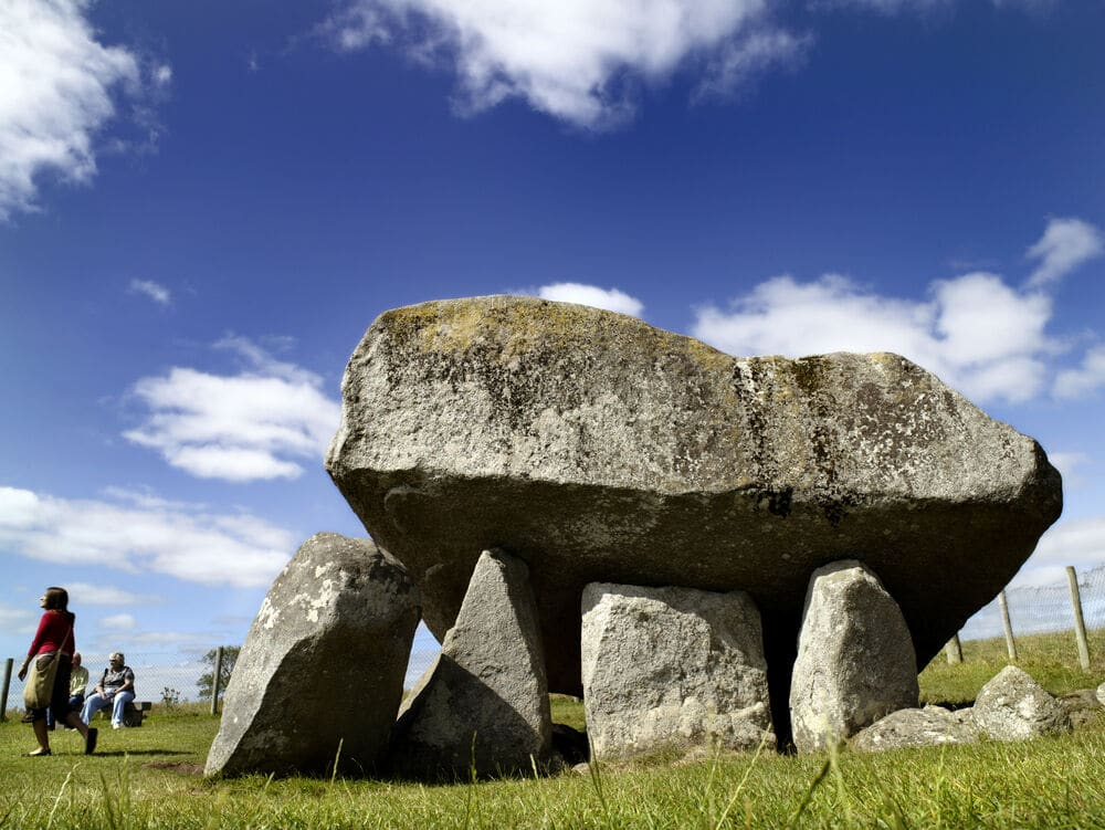 Brownshill Dolmen, Co Carlow - one of Ireland's most ancient burial sites.