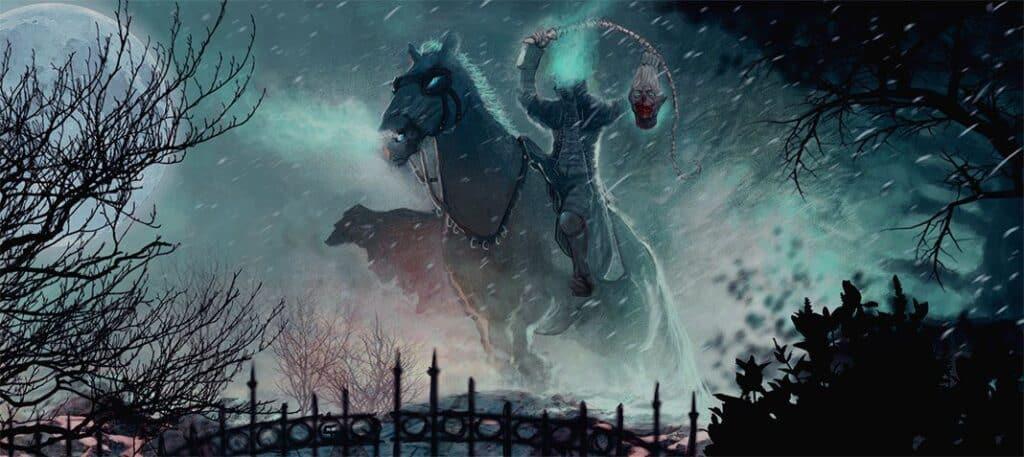 The Dullahan – Ireland's headless horseman.