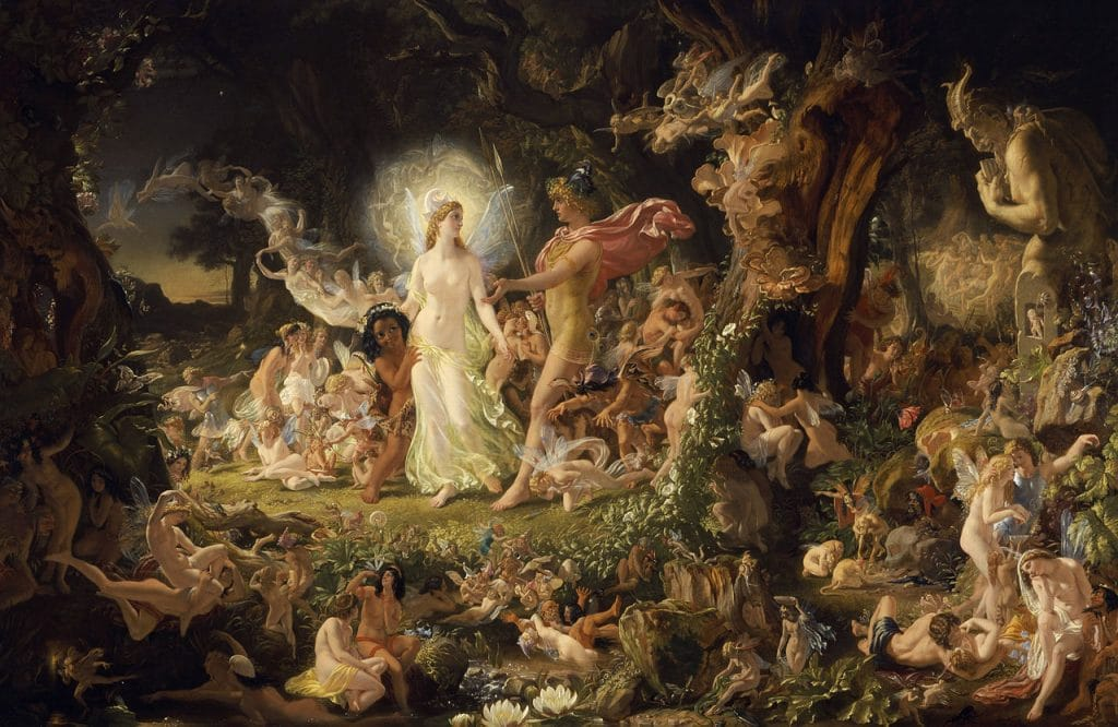 Fairies are an important part of Irish folklore.