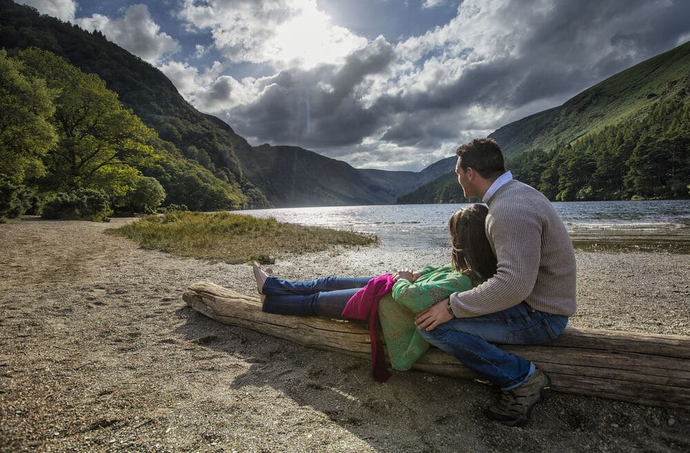 Glendalough, Co Wicklow – the best thing to see in south-east Ireland.