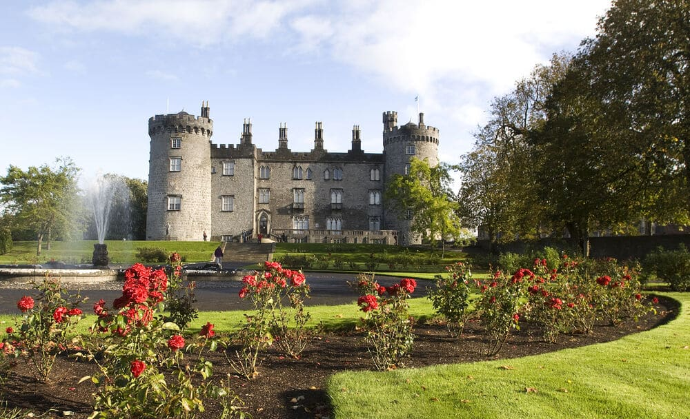 Kilkenny Castle, Kilkenny – one of the best things to see in south-east Ireland.