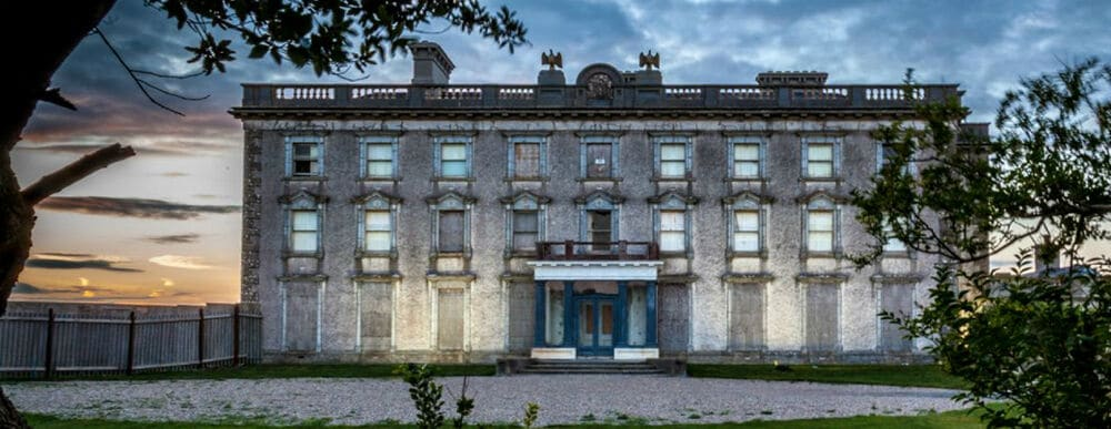 Loftus Hall, Co. Wexford – one of the most haunted places in Ireland.