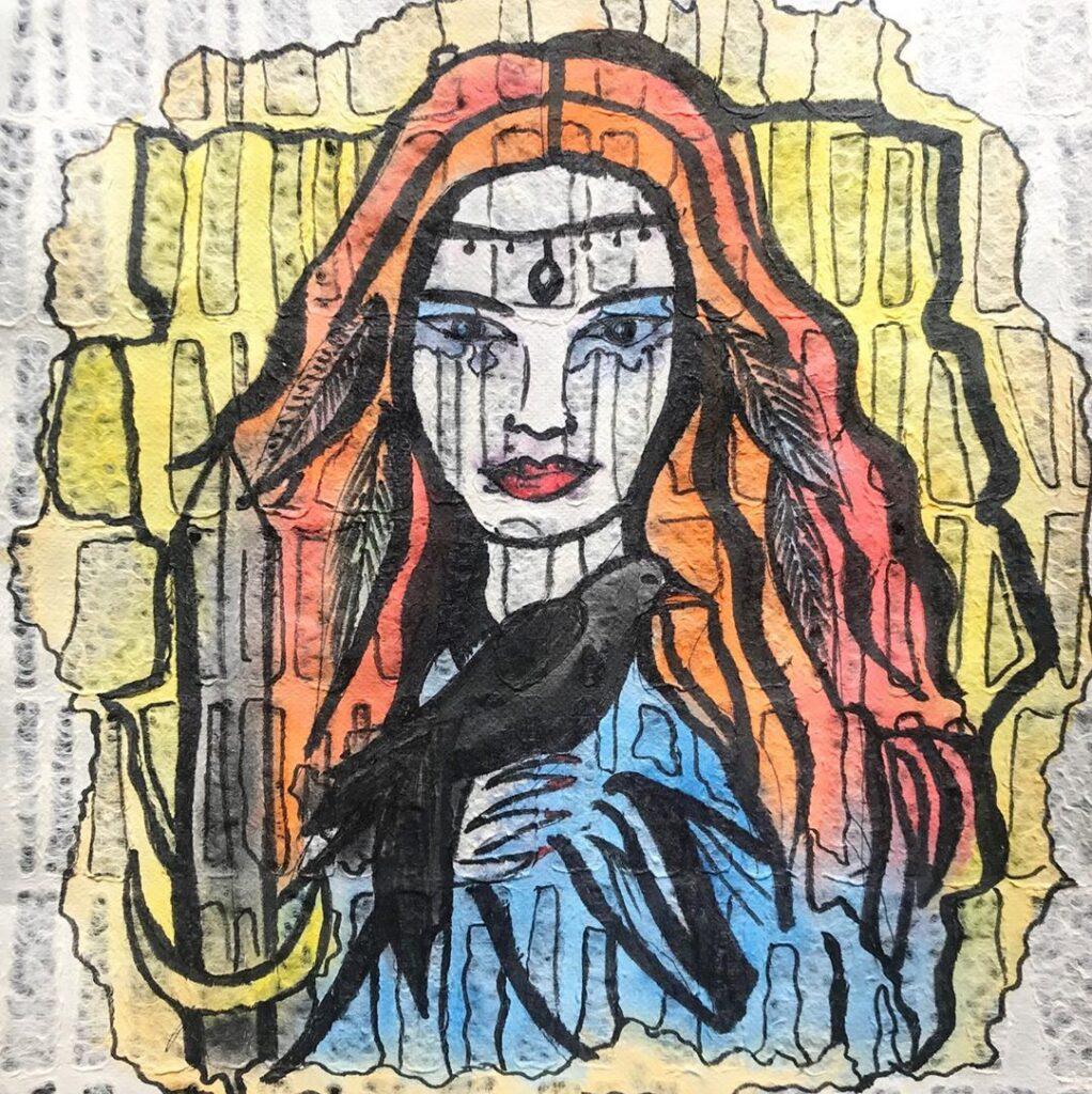 Macha – the Irish Goddess of the Horses.