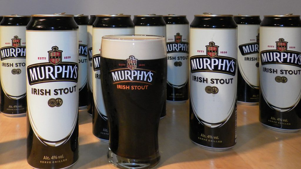 Murphy's Irish Stout – a great alternative to Guinness
