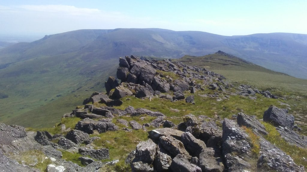 The Comeragh Mountains, Co. Waterford – an area surrounded by rugged beauty.