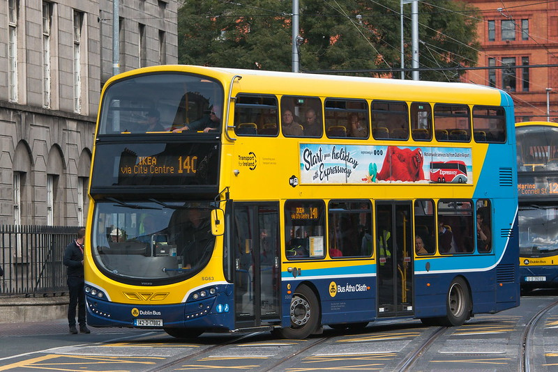 One of the things to know before going to Ireland is that you will have to flag down the buses.