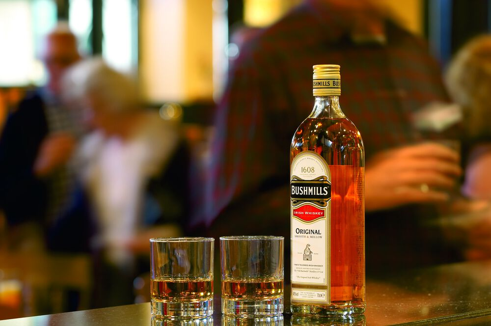 Bushmills - a top-notch whiskey from the very North