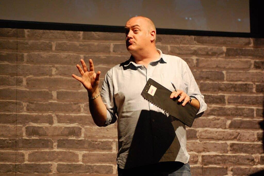Dara Ó Briain – one of the wittiest Irish comedians