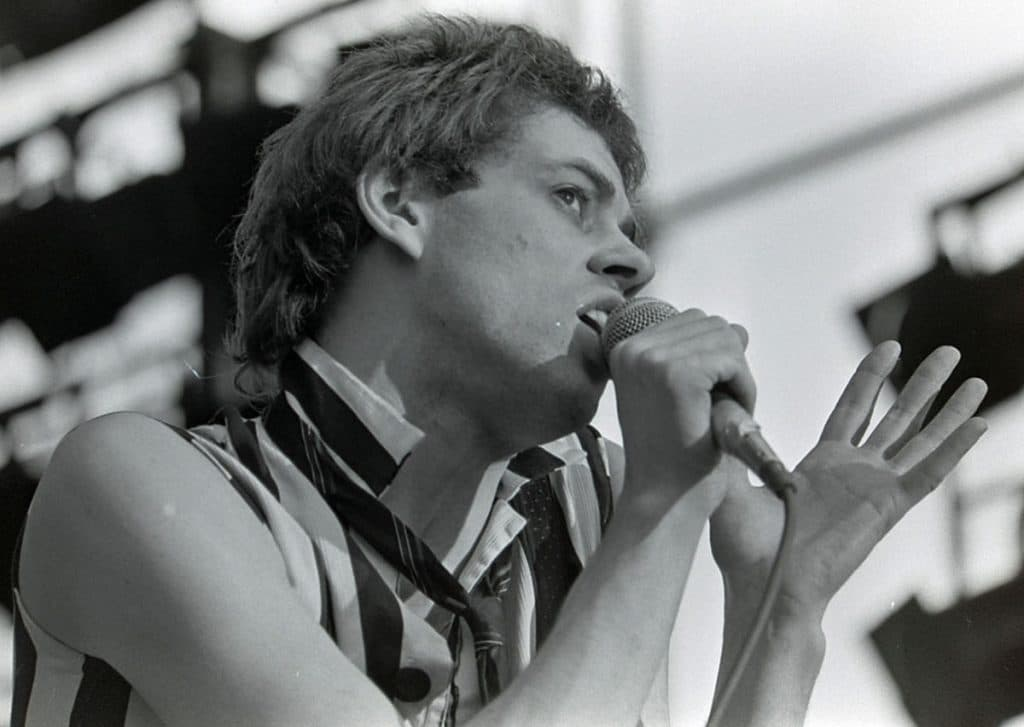 The Boomtown Rats were one of the biggest acts that Luke Eric photographed during his career.