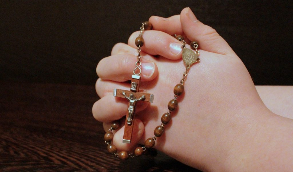 The Ballynahora Legion will celebrated with a collective rosary outside.