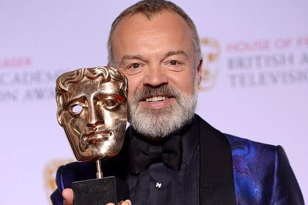 Graham Norton – has the gift of the gab