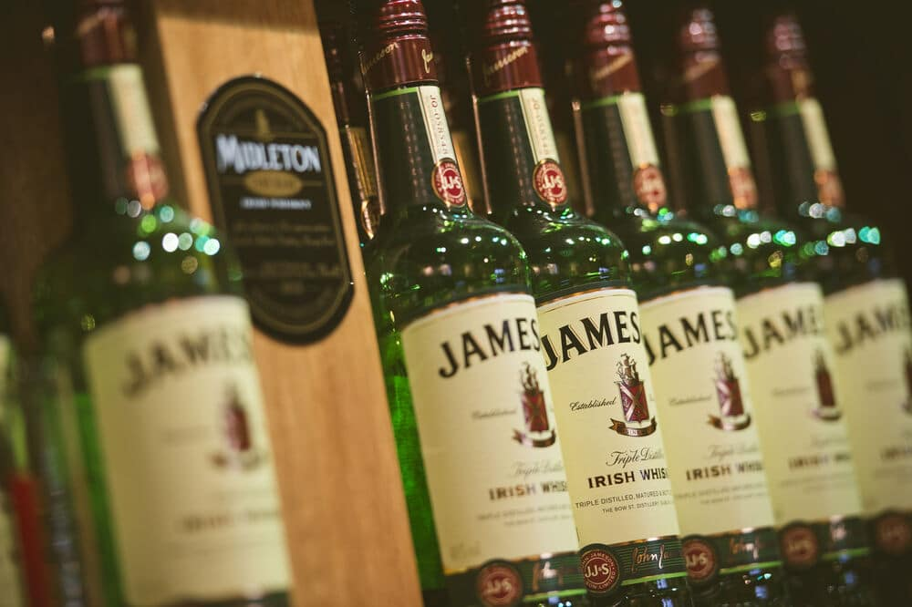 Jameson is without doubt one of the best Irish alcoholic drinks.