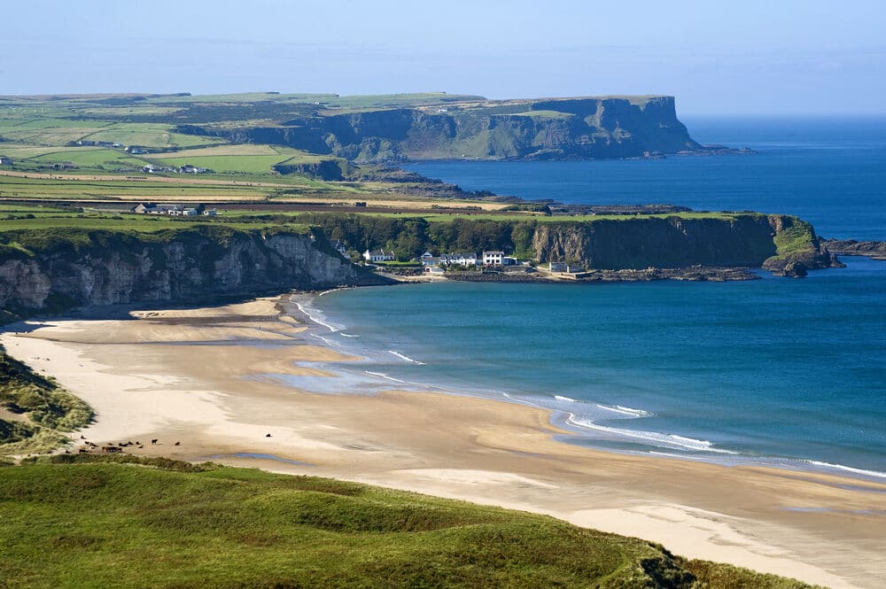 You should visit Northern Ireland to catch a glimpse of the breathtaking Causeway Coast.