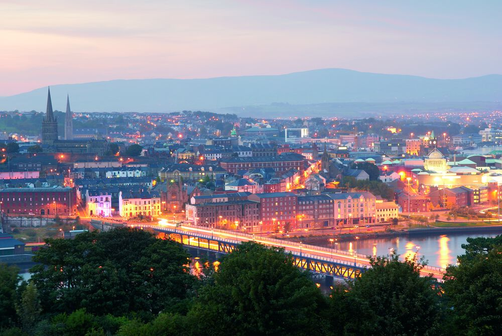 Is Northern Ireland safe to visit? Yes, and Derry is a great place to see.