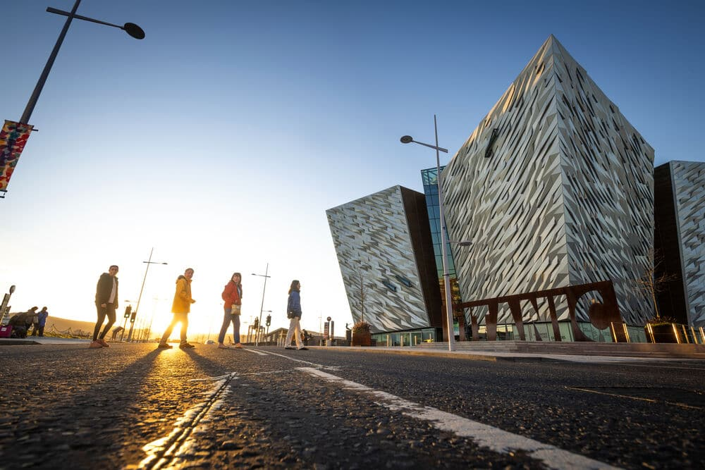 The lure of Belfast is now a big pull for people wondering is Northern Ireland safe to visit.