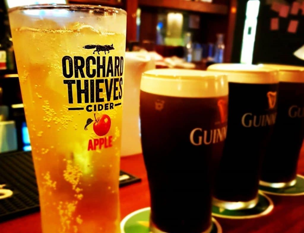 Orchard Thieves - our new favourite Irish cider