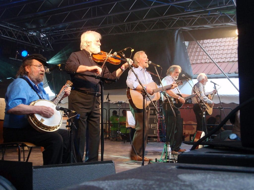 Finnegan's Wake by The Dubliners is one of the best Irish drinking songs.