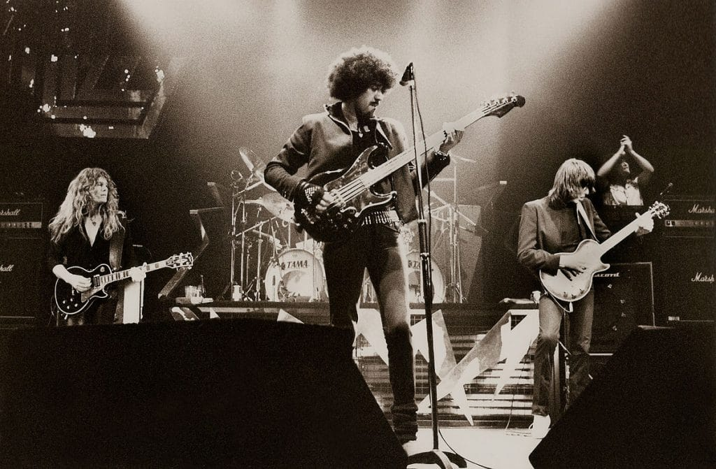 Thin Lizzy – the boys are always in town
