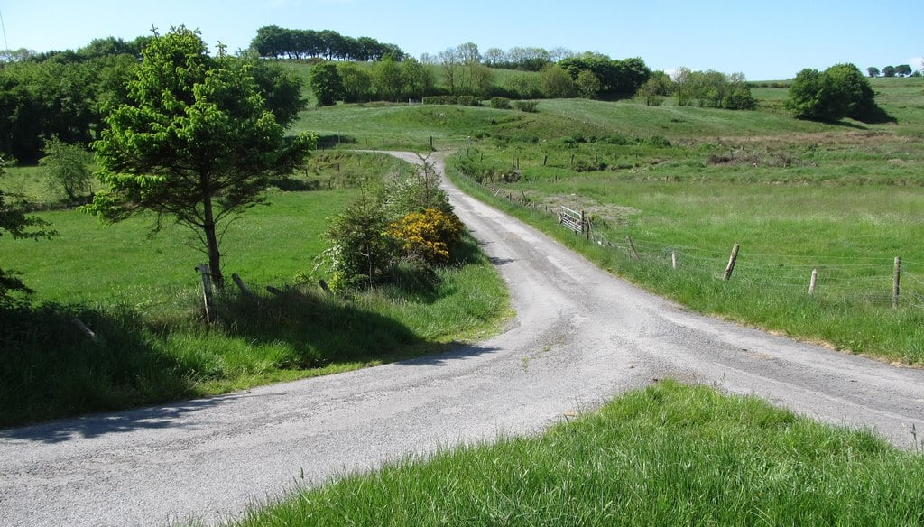 One of the most important things to know before going to Ireland is that the country roads are extremely narrow.