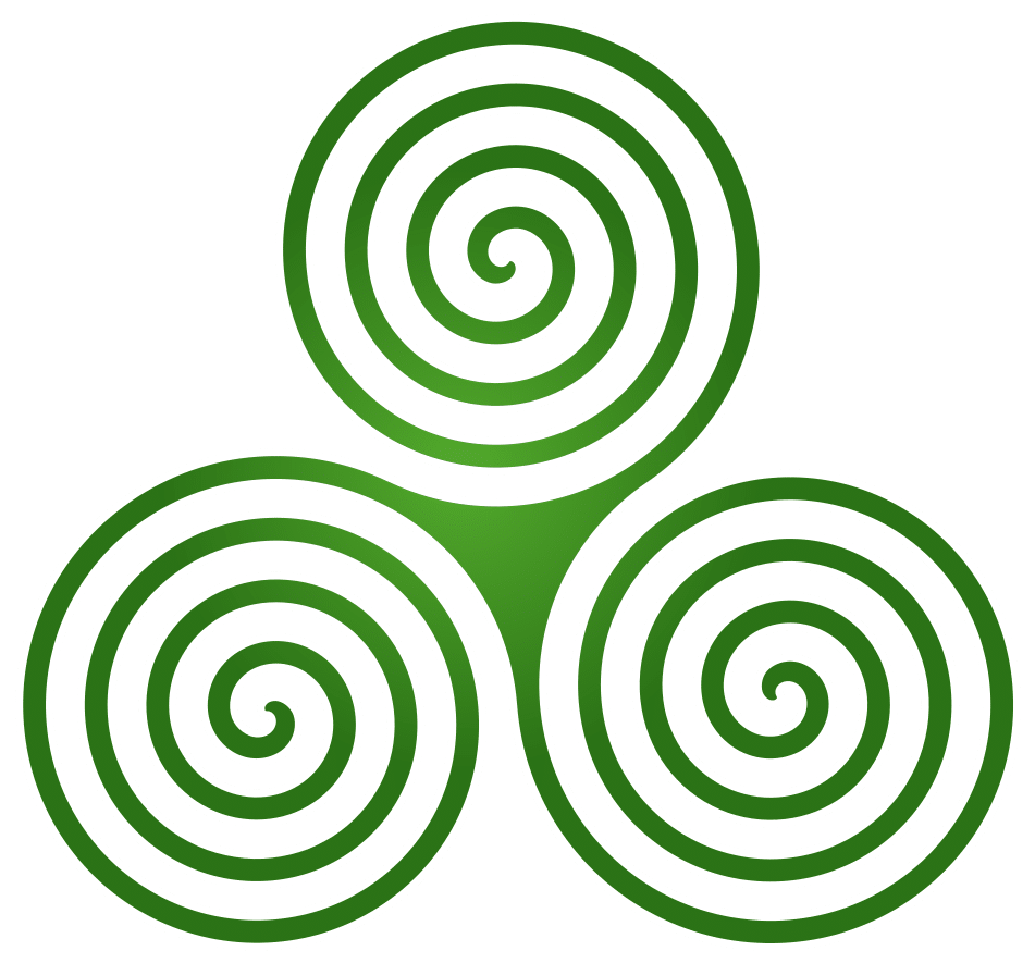 The Triskelion is the Irish Celtic symbol for family.